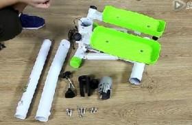 SKG踏步机拉绳如何安装?